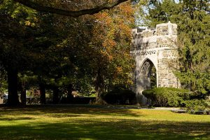 image of Bowne Memorial Gate at Drew University